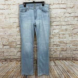 7 seven for all mankind jeans high waist boot cut